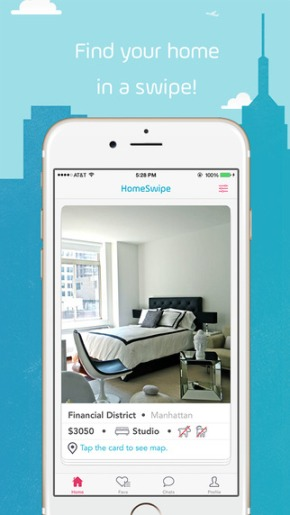 #TechieTuesday – HomeSwipe App Lets You Apartment Hunt, Tinder Style!